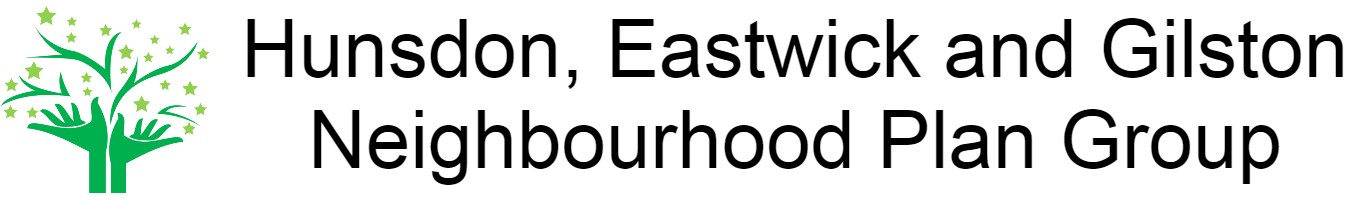 Hunsdon, Eastwick and Gilston Neighbourhood Plan Group